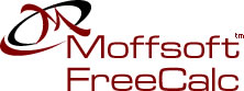 Moffsoft FreeCalc - calculator freeware